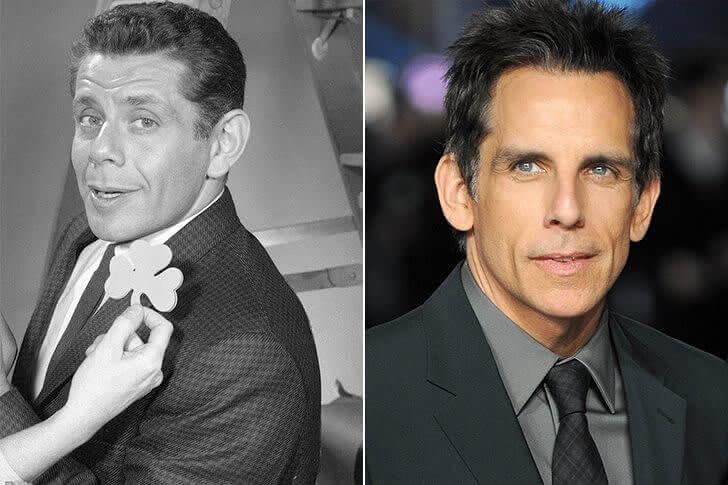 Jerry Stiller & Ben Stiller – Na casa dos 40 anos