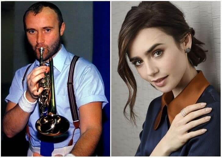 Phil Collins e Lily Collins – Final da casa dos 20 Anos