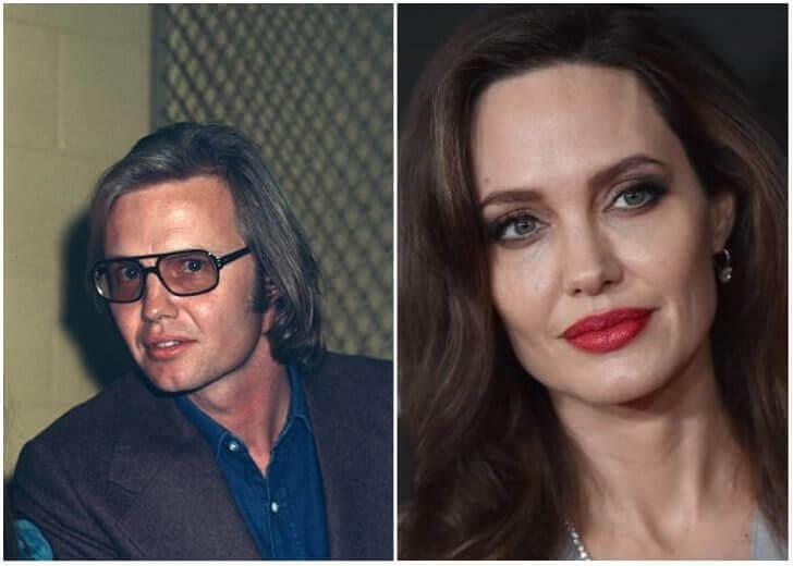Jon Voight e Angelina Jolie – Na casa dos 40 anos