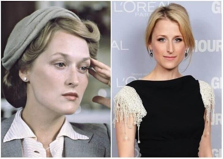 Meryl Streep e Mamie Gummer – Início da casa dos 30 anos