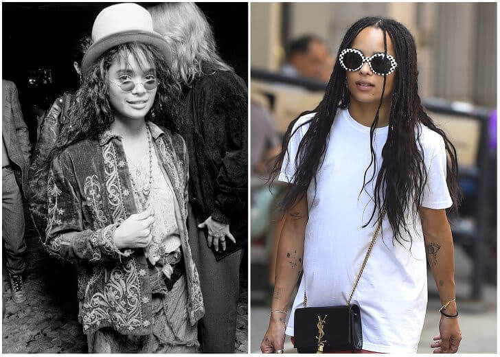Lisa Bonet e Zoë Kravitz – Na casa dos 20 anos