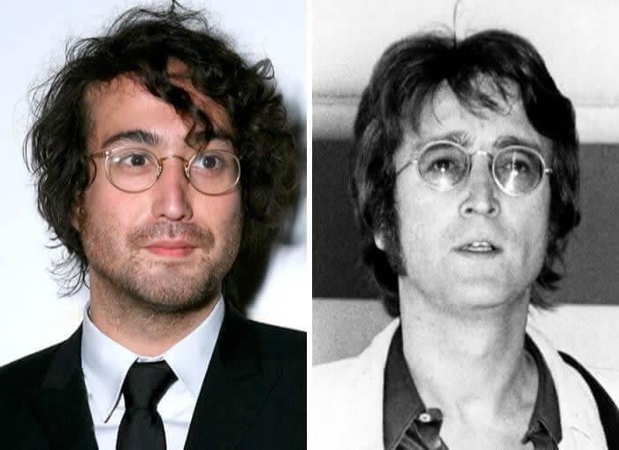 John Lennon & Sean Lennon - 31 Anos