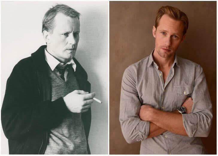 Stellan Skarsgård e Alexander Skarsgård – Na casa dos 30 anos