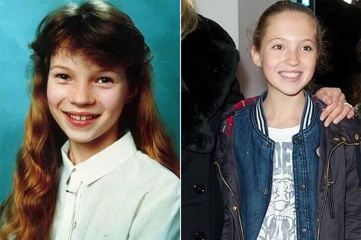 Kate Moss & Lila Grace Moss – Adolescência
