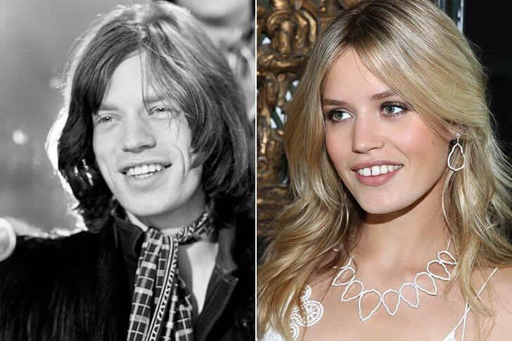 Mick Jagger & Georgia May Jagger – Na casa dos 20 anos