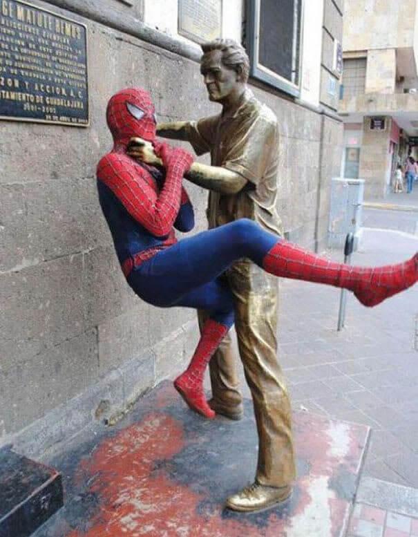 Spiderman A Des Problèmes