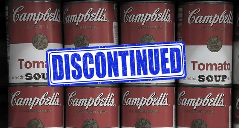 25 Iconic Brands and Products That May Disappear From Shelves Soon