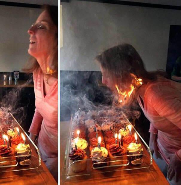 """""""Garota, você está pegando fogo"""""""
