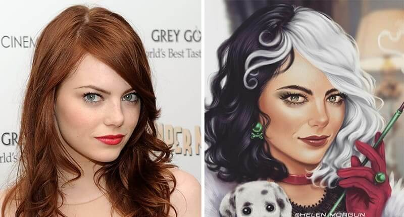 30+ Celebrities Magically Reimagined As Disney Characters