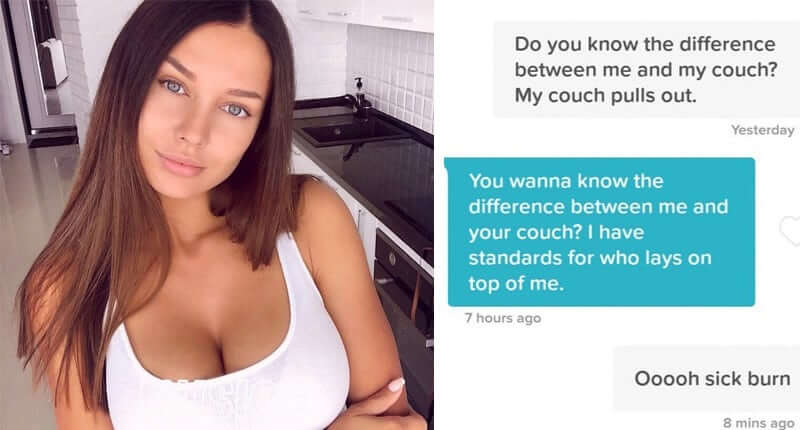 40+ Of The Most Hilariously Savage Comebacks To Awful Pickup Lines