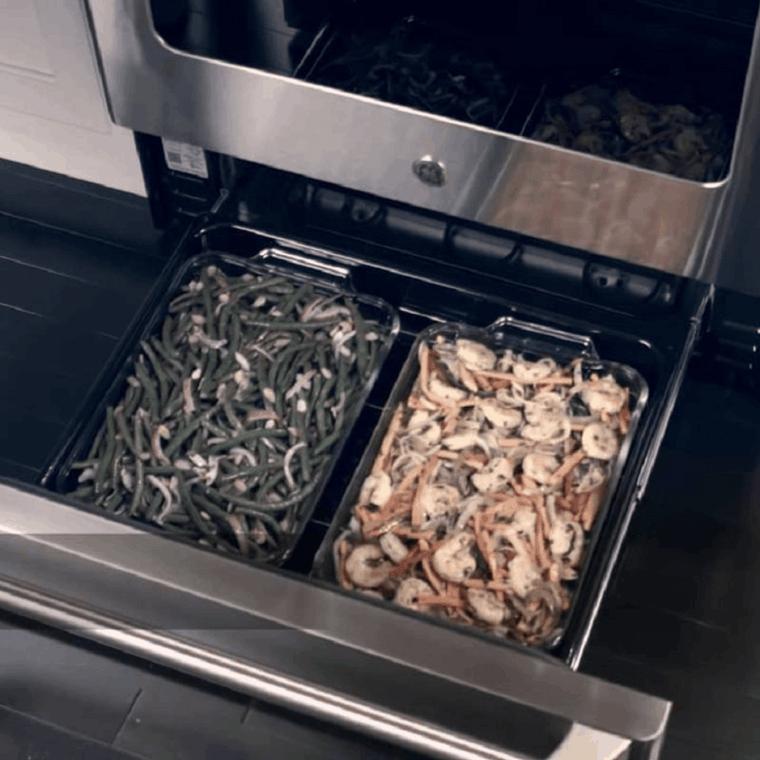 El Cajón Del Horno Funciona Para Mantener La Comida Tibia