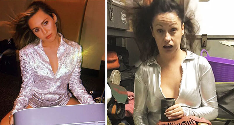 Woman Hilariously Recreates Celebrity Instagram Photos And The Results Are Too Good