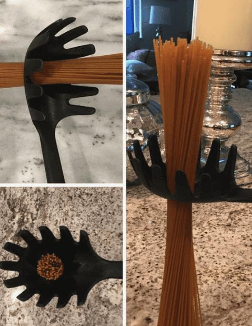 El Rol Del Agujero En La Cuchara Para Pasta