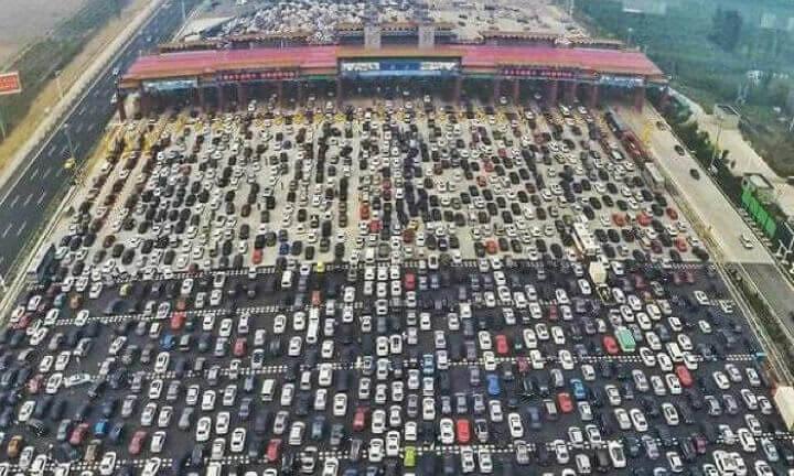 ازدحام المرور الاسوء على الإطلاق