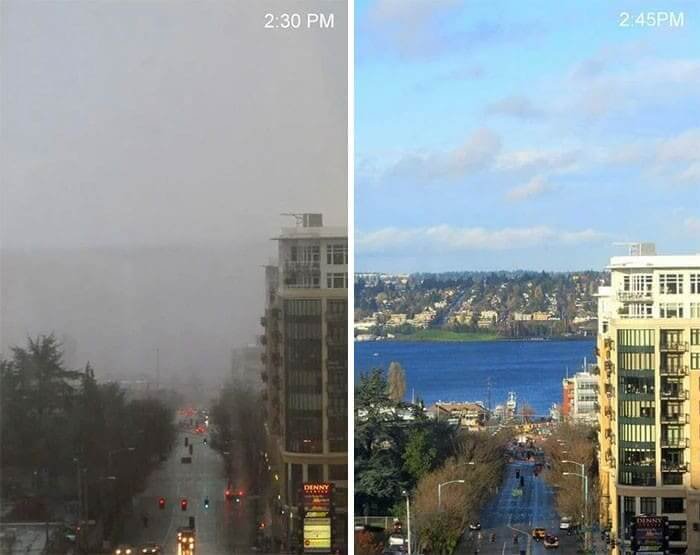 From Dark and Gloomy To Sunny and Bright
