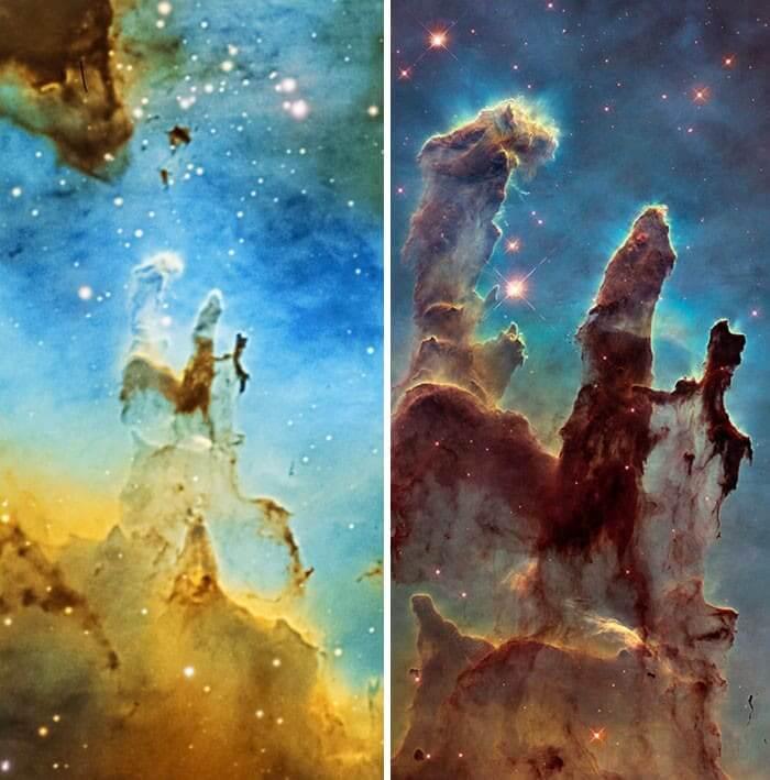 Home Telescope vs. The Hubble Space Telescope