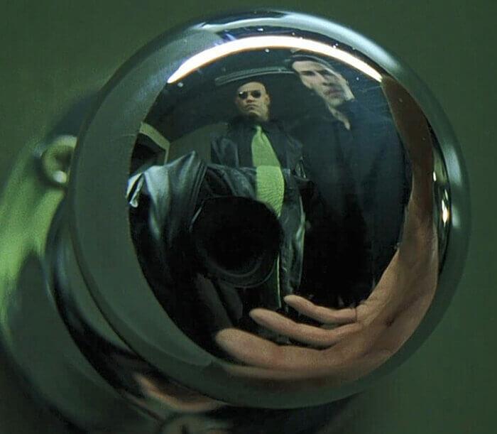 Door Handle Effect In The Matrix
