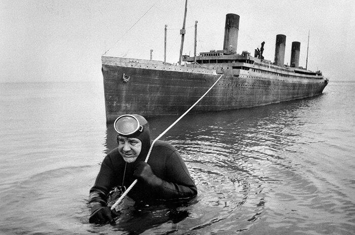 Raise The Titanic Scale Model
