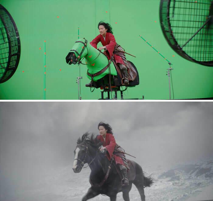 Mulan (2020) Horses