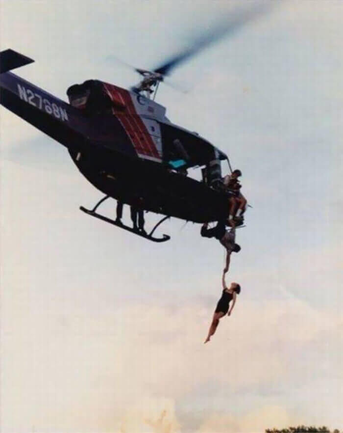 True Lies Helicopter