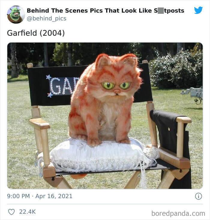 When Garfield Was Demonically Possessed