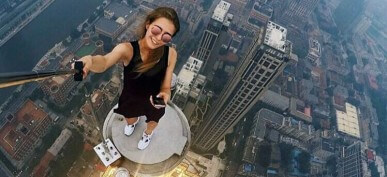 40 Death-Defying Selfies That Will Make Your Heart Skip A Beat