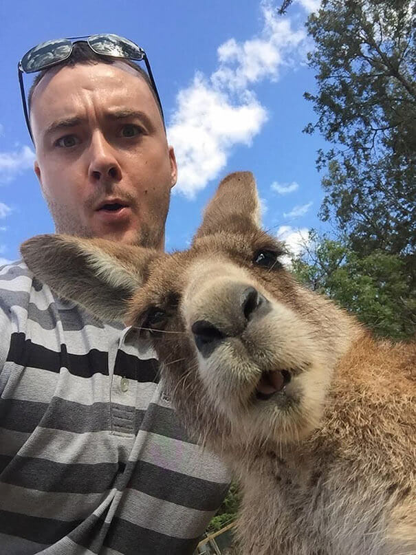 A Selfie From Down Under