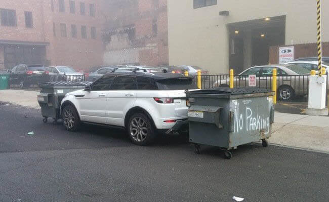 """There Are """"No Parking"""" Signs For A Reason"""