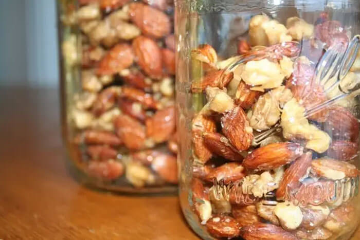 Roast Nuts And Then Freeze Them When You Get Home From The Store