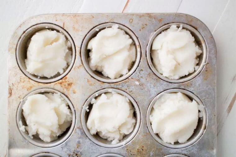 Freeze Mashed Potatoes Like This