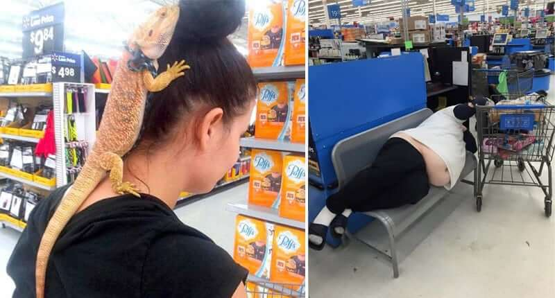 30+ Bizarre People You Would Only See At Walmart