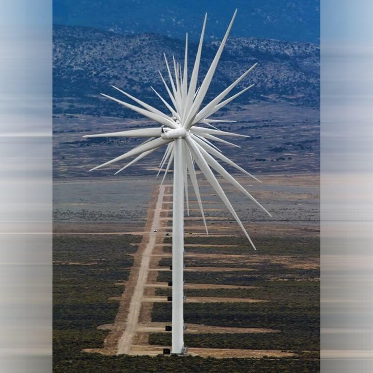 Turbina Se Transforma Em Uma Estrela de 27 Lados