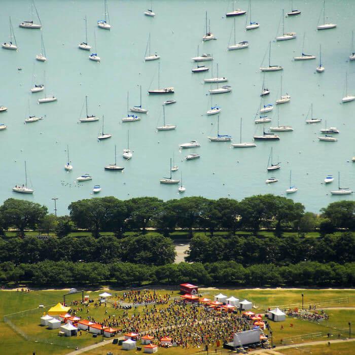 Oh Não, Os Barcos Estão Flutuando No Céu