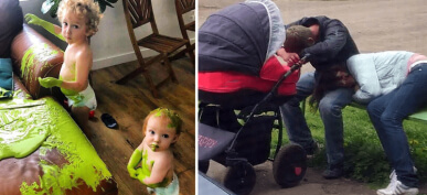 50+ Photos That Prove Anyone Who Says Parenting Is Easy Is A Liar