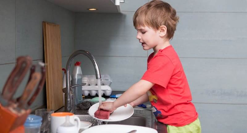How To Get Your Preschool-Aged Child To Help With Household Chores