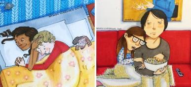 Mais de 40 Ilustrações Que Resumem Perfeitamente os Relacionamentos Longos