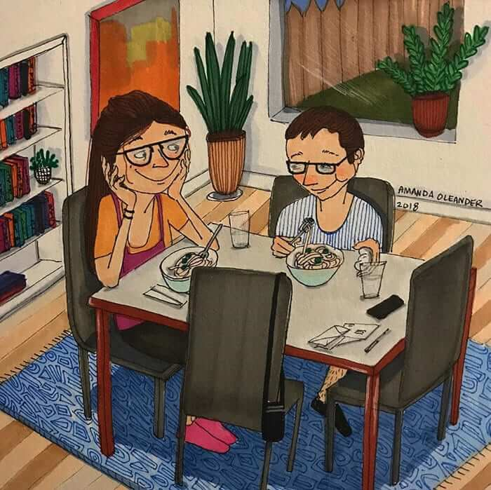 Hora de cenar