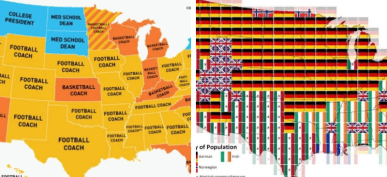 30+ Maps Of America That Will Make You Question Everything You Know About The USA