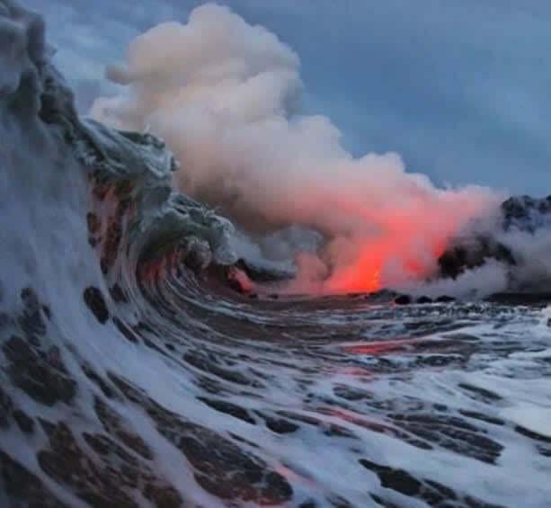 Onde Fogo e Água Se Encontram