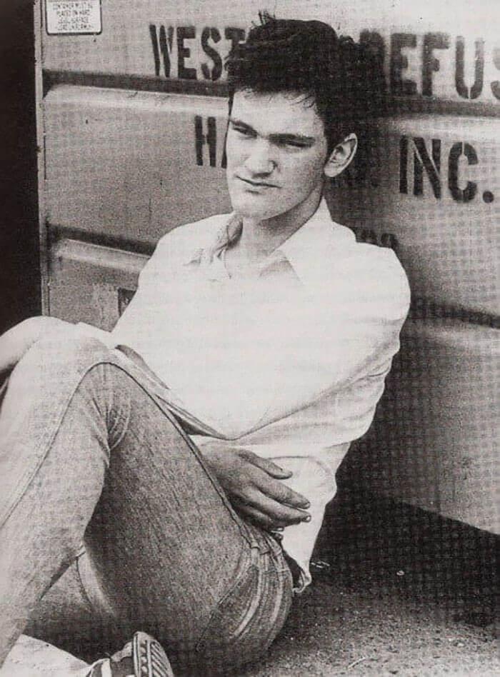 Quentin Tarantino En 1983
