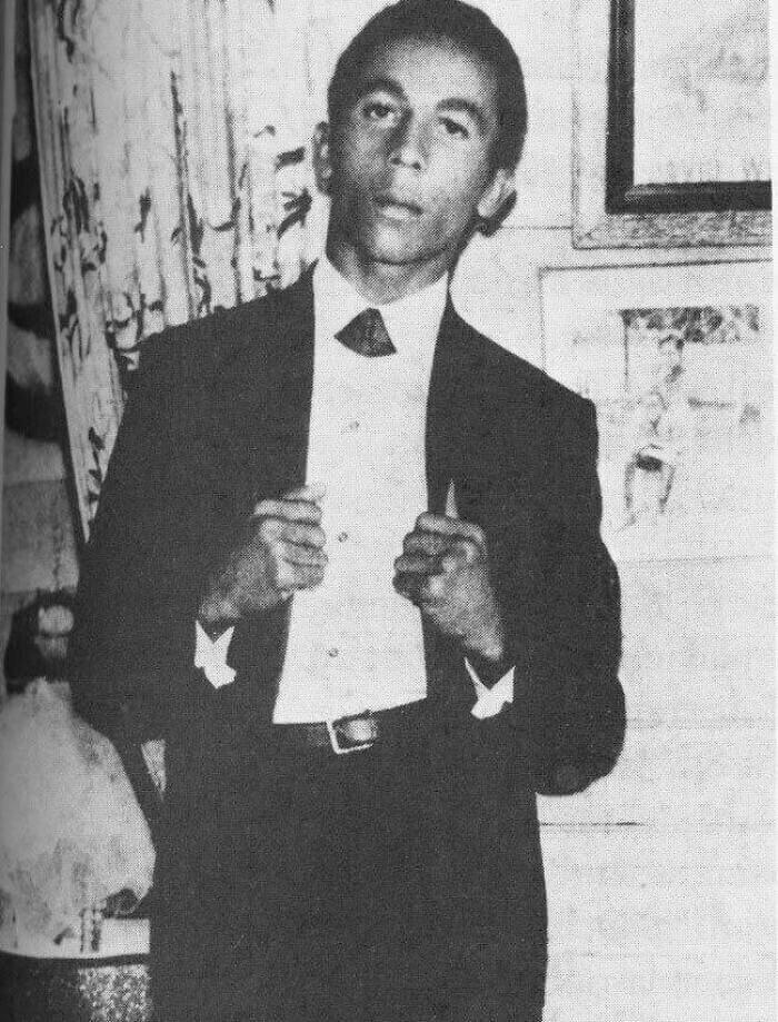 Bob Marley Sin Sus Rastas