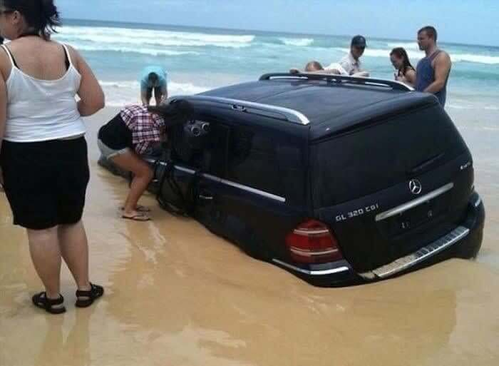 This Is Why You Can't Park On The Beach