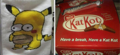 45 Times Companies Blatantly Ripped-Off Popular Brands In Hilarious Ways