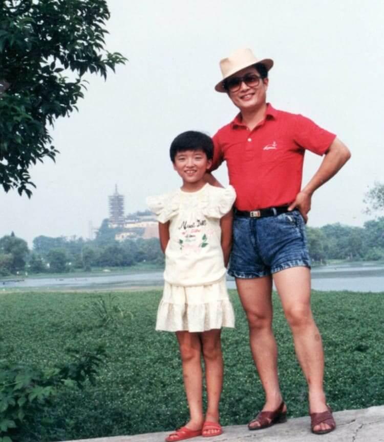 Un Padre Con Alto Sentido De La Moda: 1989