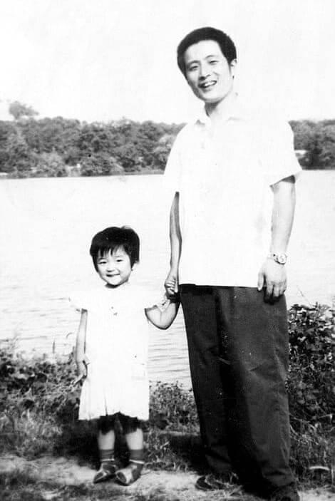 Foto Con Hua Hua a Los Dos Años: 1981