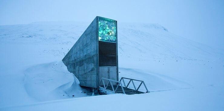 Bóveda Global de Semillas de Svalbard, Noruega