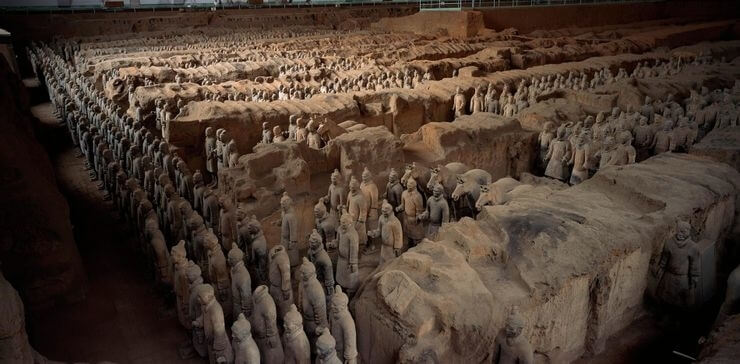 Mausoleo De Qin Shi Huang, China