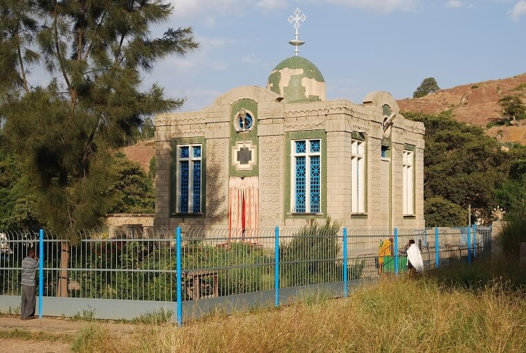 Iglesia de Santa María de Sión, Etiopía
