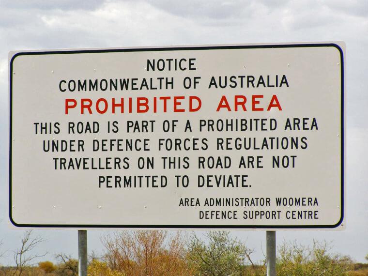 Campo de Experimentación Woomera, Australia