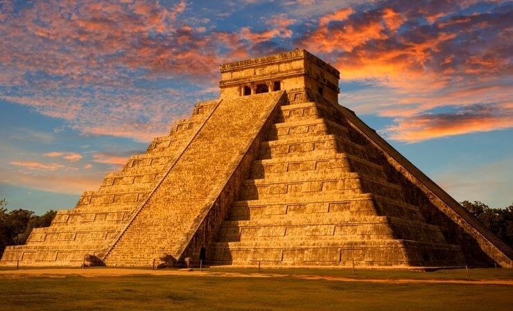 Pirámide Chichén Itzá, México